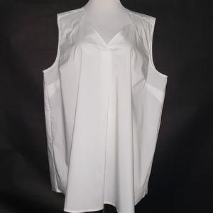 FOX CROFT sleeveless shirt size 20W